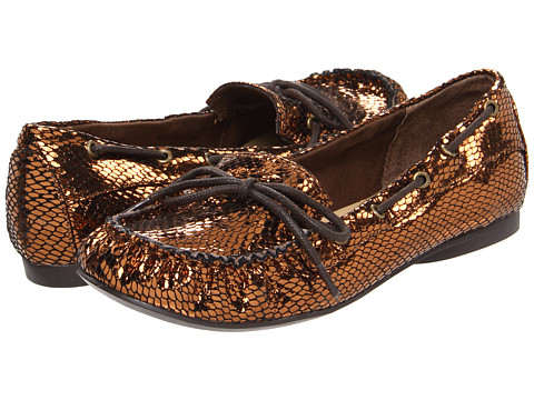 Chinese Laundry - Marlow (Bronze Western Snake) Women's Slip-on Dress Shoes