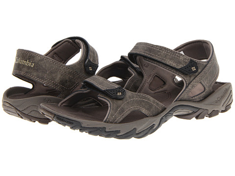 Columbia - Sandero Plus (Mud/Silver Sage) Men's Sandals