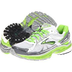 Brooks Adrenaline GTS 13 (White/Anthracite/Jasmine Green/Silver) Women's Running Shoes