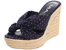 MIA - Raspberry Swirl (Navy Dot) - Footwear