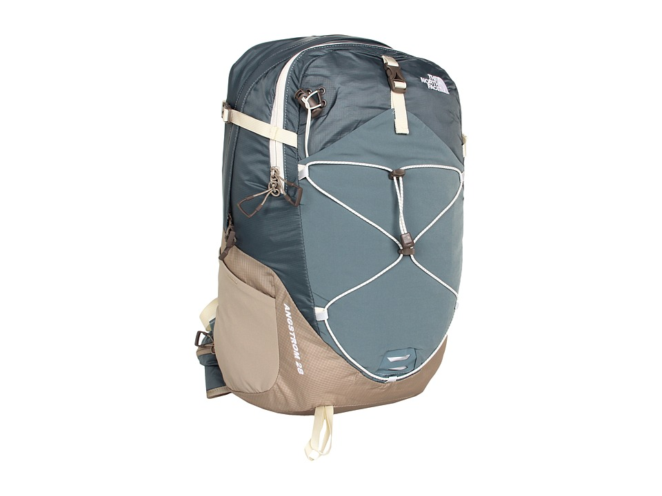The North Face - Women's Angstrom 28 (Goblin Blue/Dune Beige) Backpack Bags