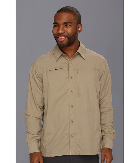 Mountain Hardwear - Canyon L/S Shirt (Khaki/Khaki) Men