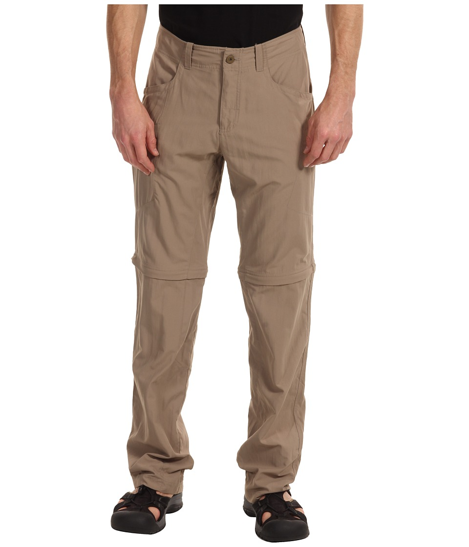 Mountain Hardwear - Mesa V2 Convertible Pant (Khaki) Men's Clothing