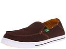 Sanuk Baseline (Chocolate) Men's Slip on Shoes