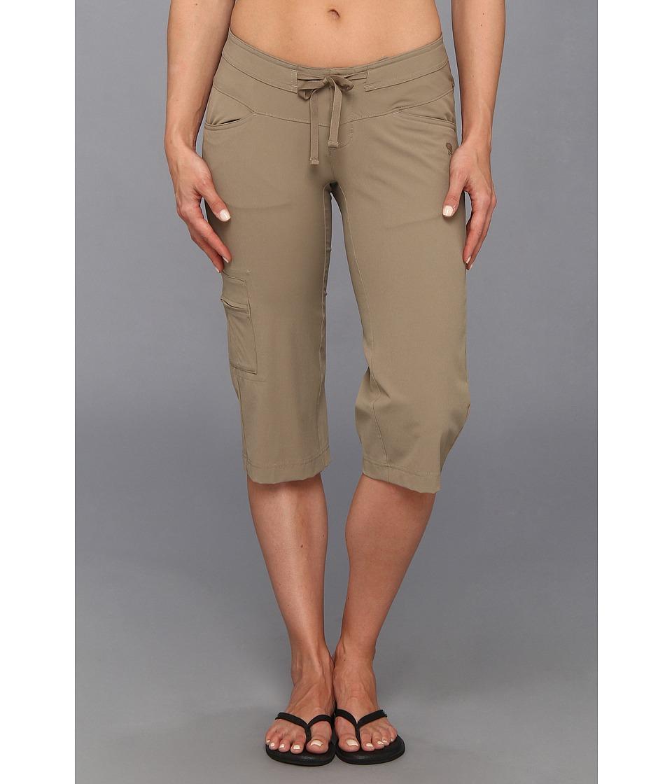 Mountain Hardwear - Yuma Capri (Khaki) Women's Capri