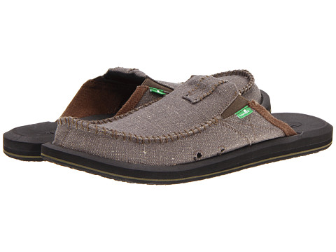 Sanuk - You Got My Back II Big Tall (Army) Men's Slip on Shoes