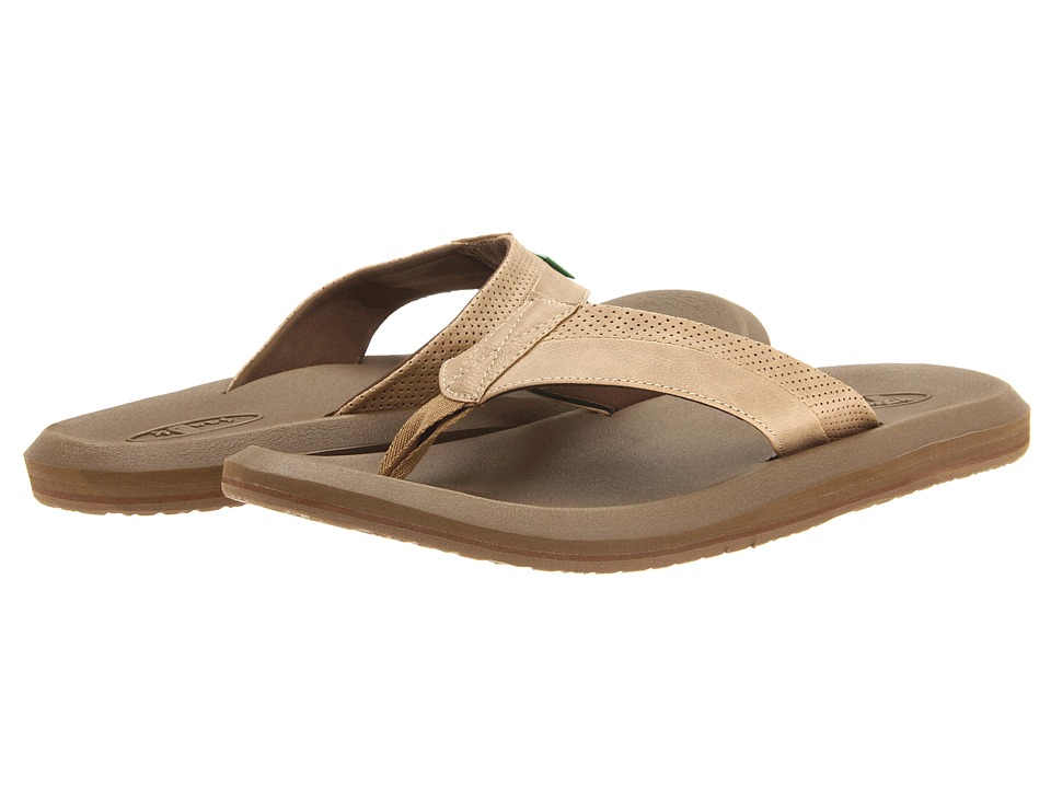 Sanuk - Slacker 2 (Tan) Men's Sandals