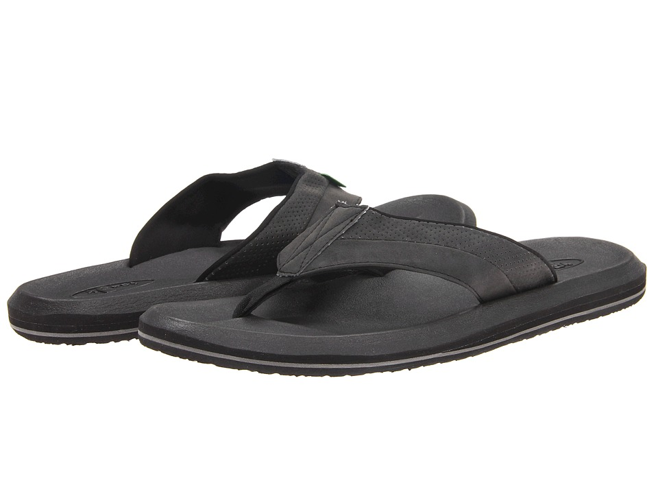 Sanuk - Slacker 2 (Black) Men