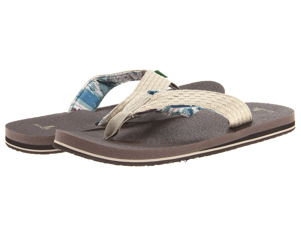 Sanuk - Yogi 3 (Natural) Men's Sandals