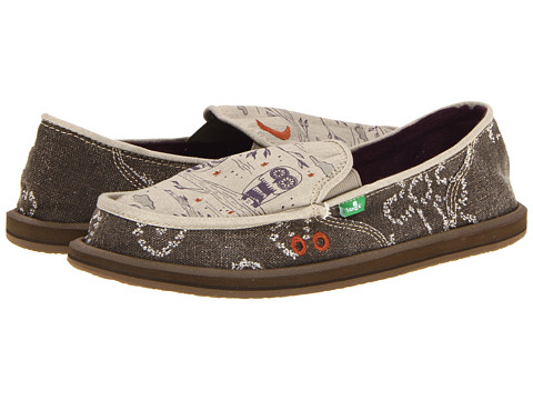 Sanuk - Scribble (Light Grey) Women