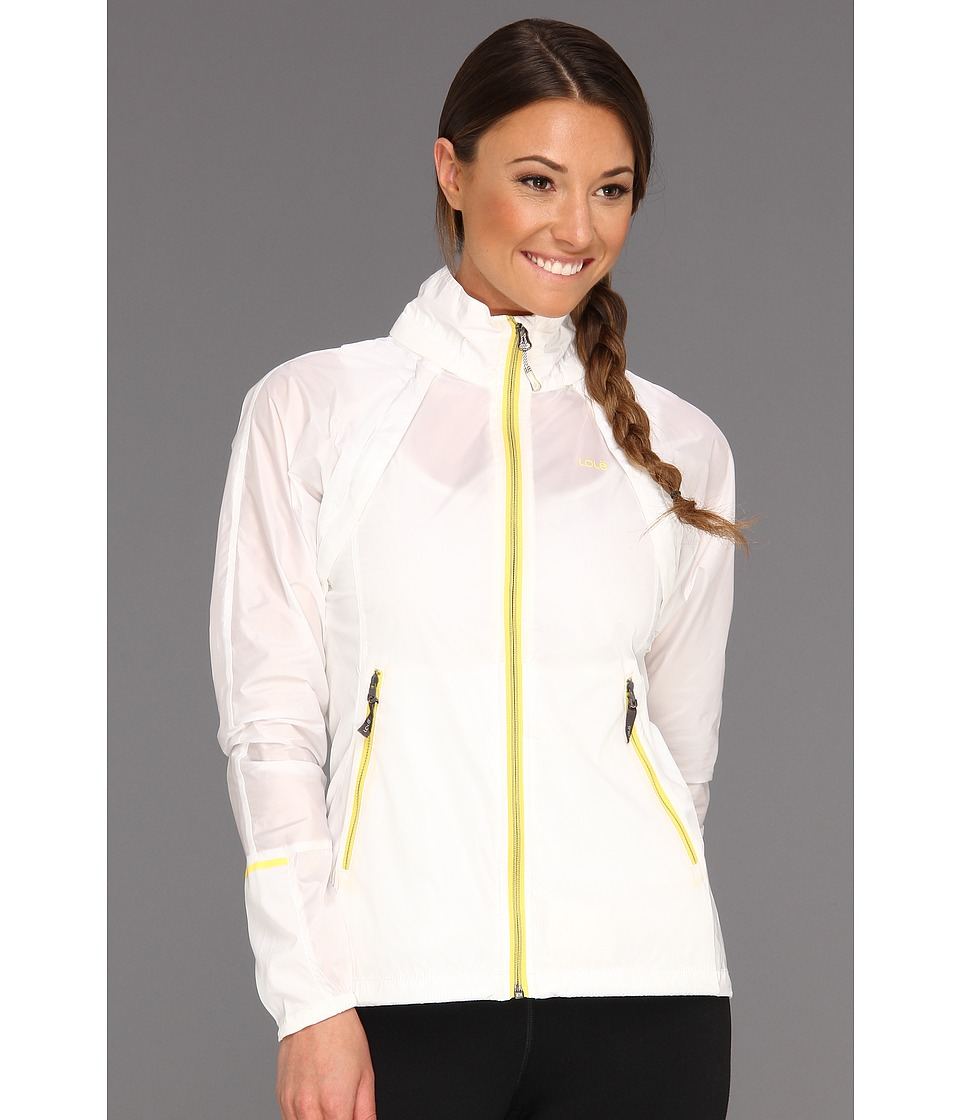 Lole - Delightful 2 Jacket (White) Women's Coat