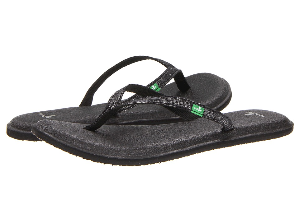 Sanuk - Yoga Spree 2 (Black) Women's Sandals