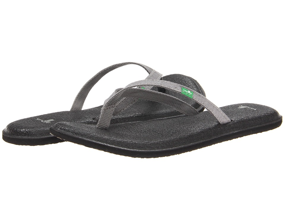 Sanuk - Yoga Spree 2 (Silver) Women's Sandals