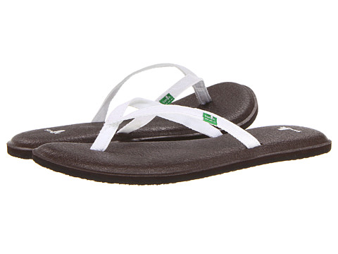 Sanuk - Yoga Spree 2 (White) Women's Sandals