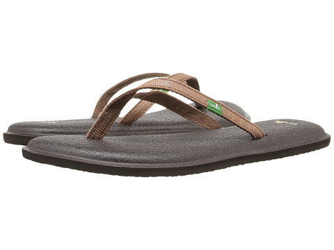 Sanuk - Yoga Spree 2 (Brown) Women's Sandals