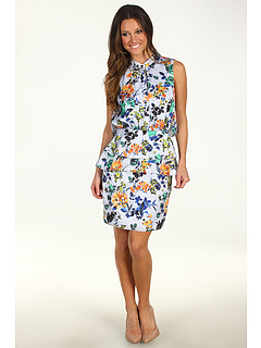 SALE! $139.99 - Save $255 on SACHIN BABI Coronado Dress (Light Blue Floral Print) Apparel - 64.56% OFF $395.00