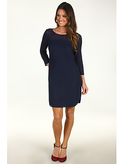 SALE! $169.99 - Save $255 on SACHIN BABI Pointe Dress (Navy Crochet) Apparel - 60.00% OFF $425.00