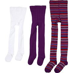 SALE! $14.99 - Save $17 on Jefferies Socks Multi Stripe Tight Seamless Organic Tight Three Pack (Infant Toddler Little Kid Big Kid) (Purple Purple White) Hosiery - 53.16% OFF $32.00
