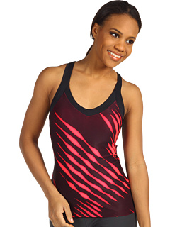 SALE! $14.99 - Save $25 on New Balance Get Back Racerback (Black Diva Pink) Apparel - 62.53% OFF $40.00