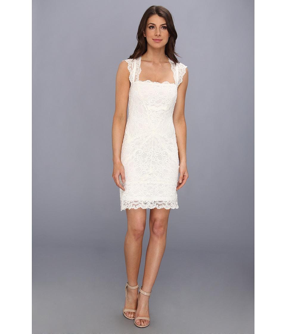 Nicole Miller - Jessica Lace Sleeveless Dress (Ivory) Women's Dress