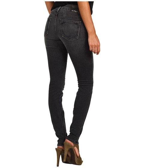 True Religion - Lonestar Amanda High-Rise Zipper Inseam Skinny in Dawn River (Dawn River) Women
