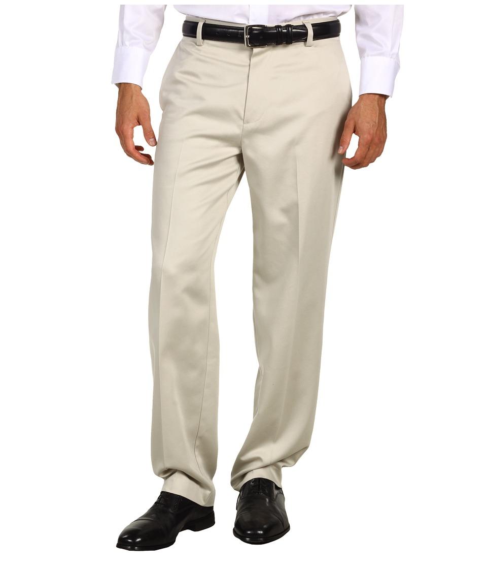 Dockers - Never-Irontm Essential Khaki D3 Classic Fit Flat Front Pant (Stone) Men's Casual Pants