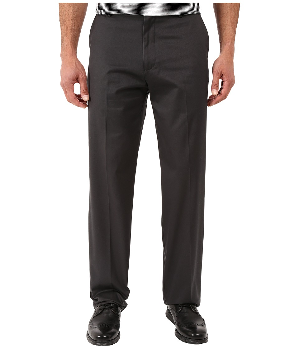 Dockers Men's - Signature Khaki D4 Relaxed Fit Flat Front (Steelhead) Men's Dress Pants