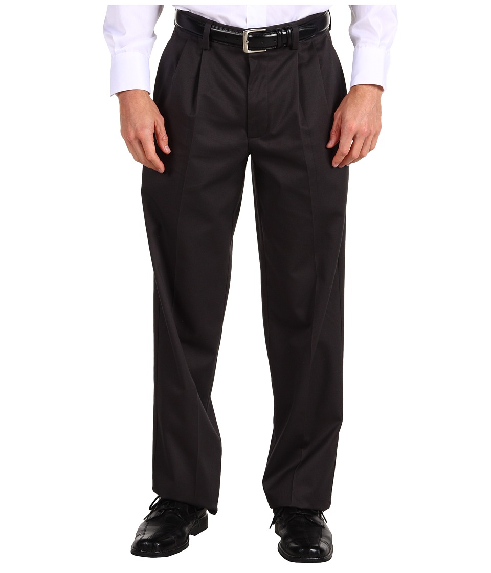 Dockers Men's - Signature Khaki D4 Relaxed Fit Pleated (Steelhead) Men's Casual Pants