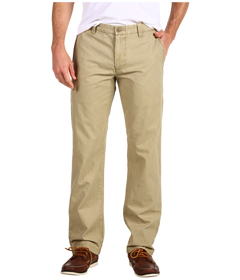 Dockers Men's - Broken In Khaki Slim Straight Fit Flat Front (Khaki) Men's Casual Pants