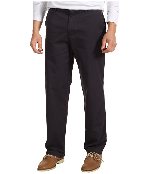 Dockers Men's - Saturday Khaki D3 Classic Fit Flat Front (Midnight) Men's Casual Pants