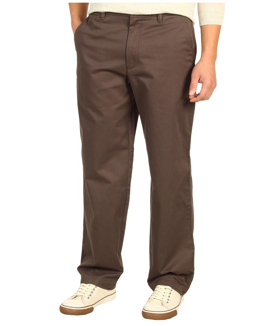 Dockers - Saturday Khaki D3 Classic Fit Flat Front (Coffee) Men's Casual Pants