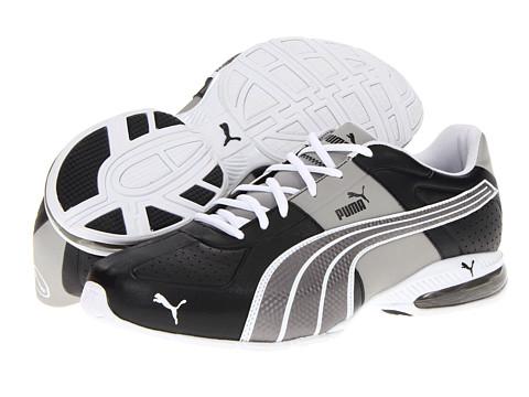 PUMA - Cell Surin (Black/Puma Silver/White) Men's Shoes