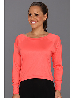 SALE! $13.99 - Save $26 on Reebok Dance Boxy Tee (Coral Contrast) Apparel - 65.03% OFF $40.00