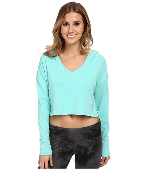 Reebok - Yoga Hoodie (Aqua Vapor) Women's Clothing