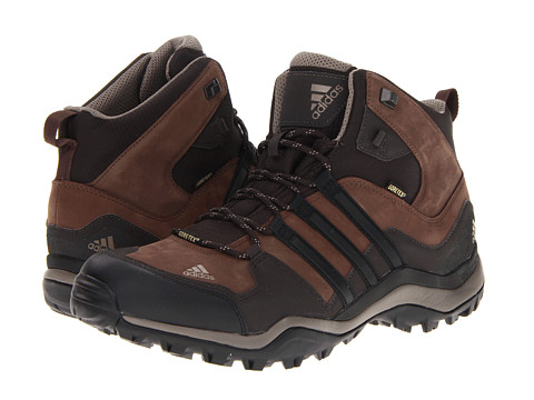 adidas Outdoor - Kumacross Mid GTX (Espresso/Black/Dark Brown) Men's Hiking Boots