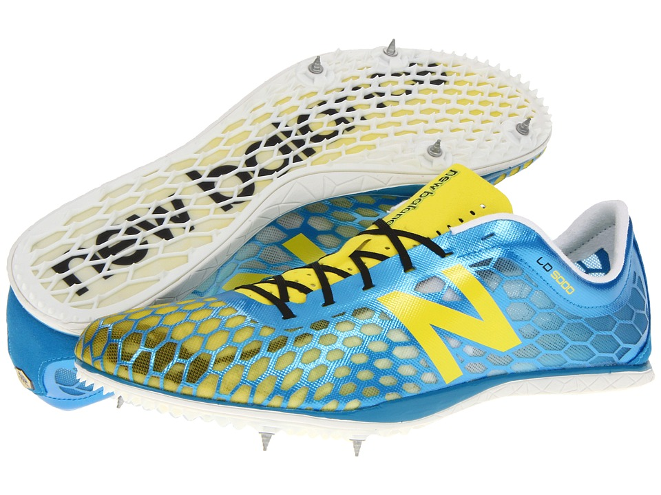 New Balance - MLD5000 (Blue/Yellow) Men's Running Shoes