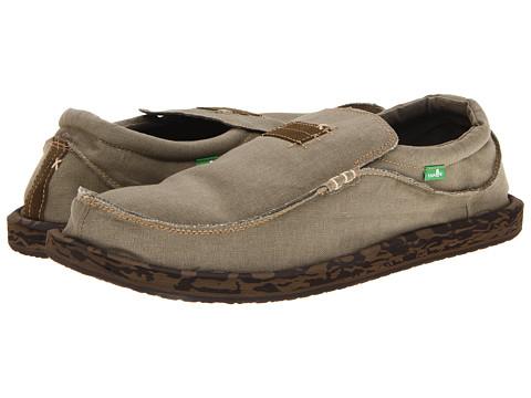 Sanuk - Kyoto Big Tall (Army Camo) Men's Slip on Shoes