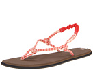 Sanuk Rasta Knotty (Red/Cream)