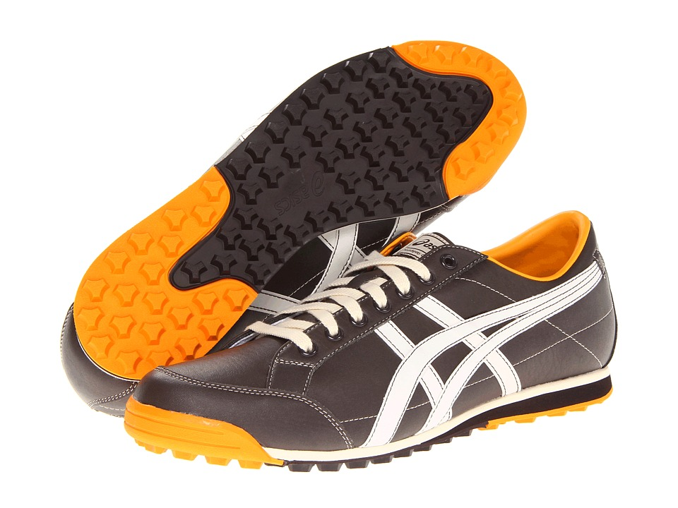 ASICS - Matchplay Classic (Dark Brown/Sun) Men's Golf Shoes
