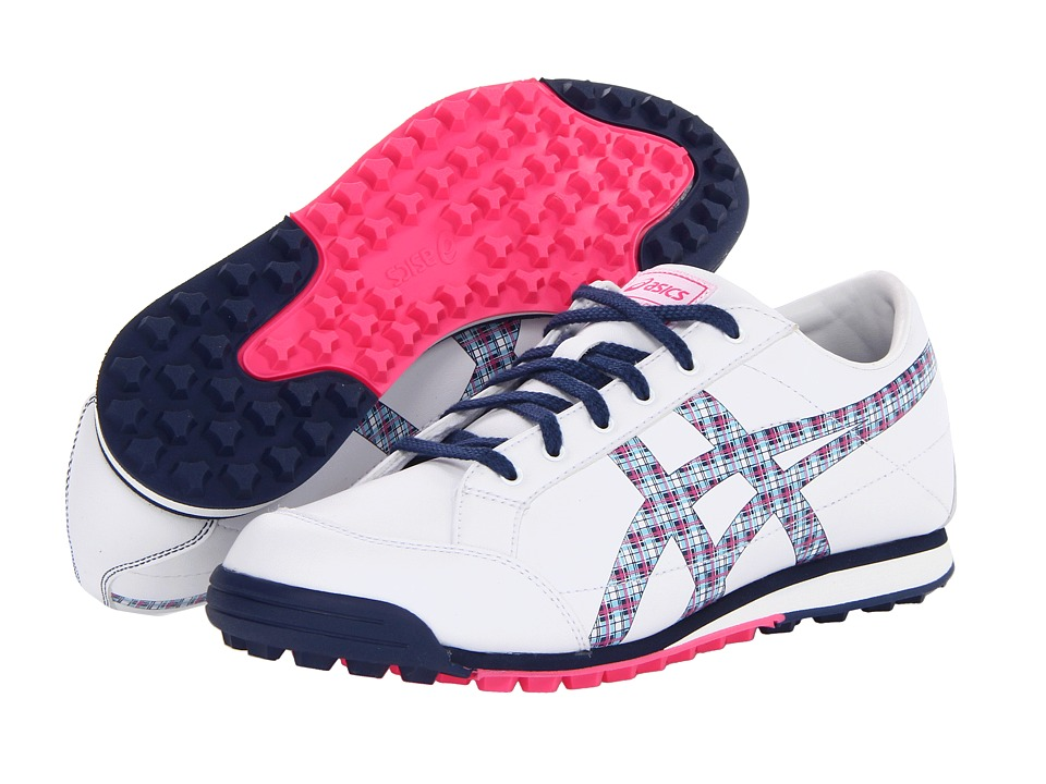 ASICS - Matchplay Classic (White/Navy) Women's Golf Shoes