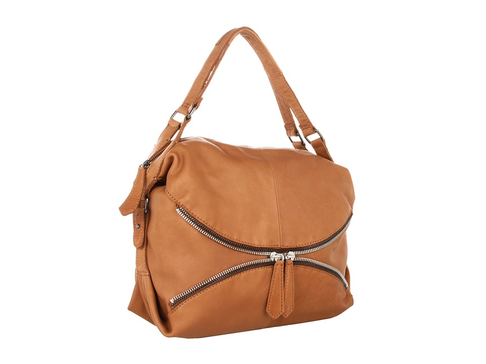 Linea Pelle - Alex Zip Hobo (Toffee) Hobo Handbags