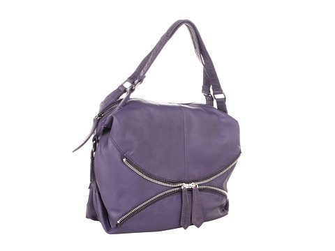 Linea Pelle - Alex Zip Hobo (Violet) Hobo Handbags