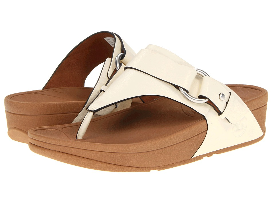 FitFlop - Via (White) Women's Sandals