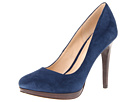 Cole Haan - Chelsea High Pump (Blazer Blue Suede) - Cole Haan Shoes