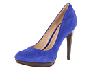 Cole Haan - Chelsea High Pump (Cobalt Suede) - Cole Haan Shoes