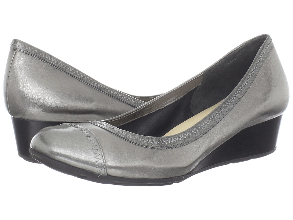 Cole Haan - Milly Wedge (Dark Silver) Women's Wedge Shoes