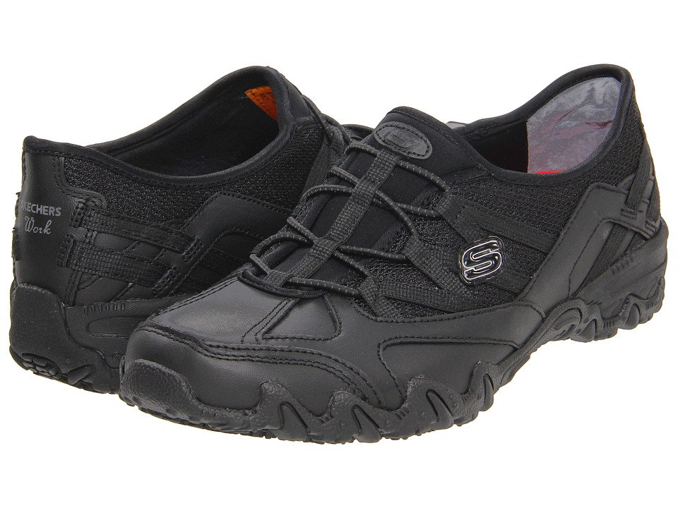 SKECHERS Work - Compulsions - Indulgent (Black) Women's Industrial Shoes