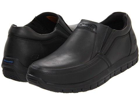 SKECHERS Work - Magma - Solace (Black) Men