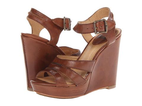 Frye - Alexa Seam 2 Piece (Cognac Smooth Full Grain) High Heels