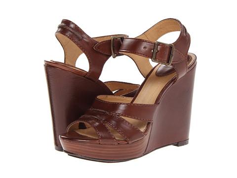 Frye - Alexa Seam 2 Piece (Redwood Smooth Full Grain) High Heels